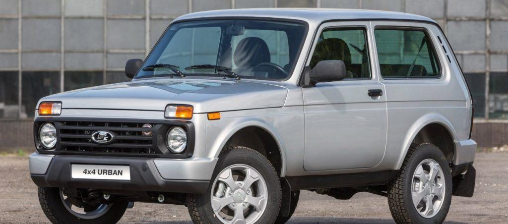 Обновленная версия Lada 4x4
