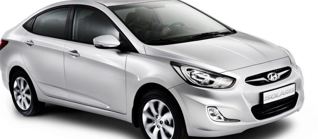 Технические характеристики Hyundai Solaris