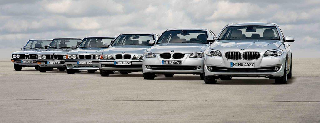 История происхождения BMW 5-серии и ее характеристики