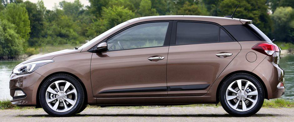 Hyundai i20 2014 модельного года